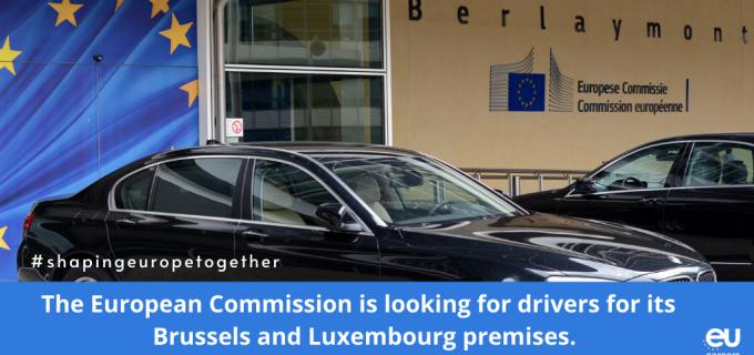 Comisia Europeană recrutează șoferi
