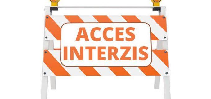 Primăria Turda: ⛔ Începând de joi accesul auto este restricționat pe strada Castanilor