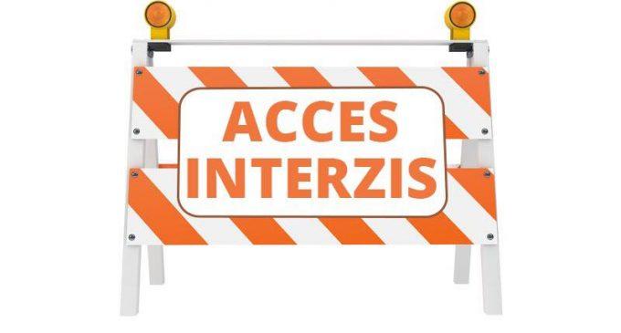 ⛔Începând cu data 01.09.2021 accesul auto va fi interzis pe un tronson de drum de pe strada Fabricii