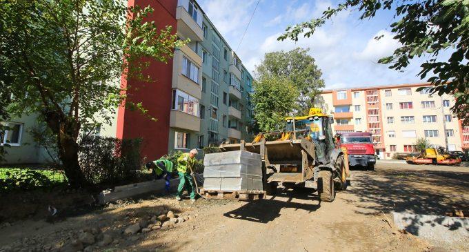 Se implementează noi proiecte urbane pe strada Constructorilor