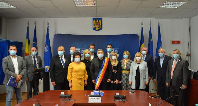 S-a constituit Consiliul Județean Cluj