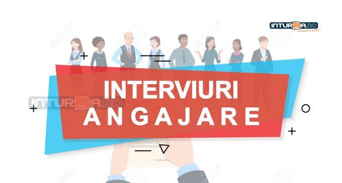 Miercuri, 11 noiembrie: Interviuri de angajare la Turda! Salarii de până la 4000 lei brut