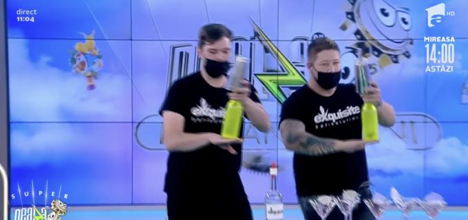 """VIDEO: Barbu Cristian și Simon Roland din Câmpia Turzii, la """"Neața cu Răzvan și Dani"""""""