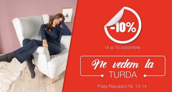 KiK: Ne vedem la Turda! 10% reducere la toate produsele