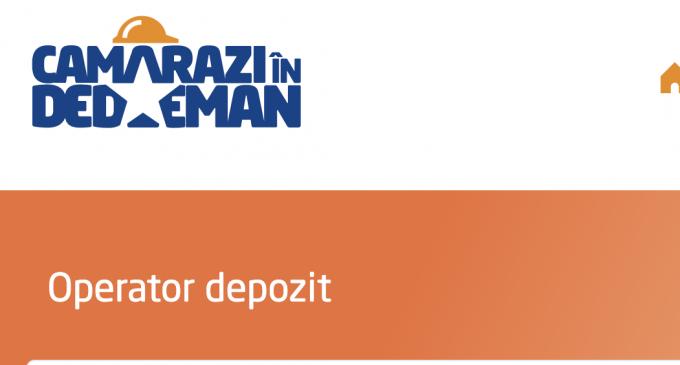 DEDEMAN Turda angajează Operator Depozit