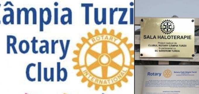 Rotary Câmpia Turzii: Sala de Haloterapie a fost finalizată și predată astăzi Clubului Copiilor
