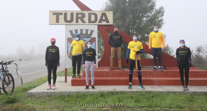 Ștafeta Veteranilor Invictus a trecut astăzi prin Turda