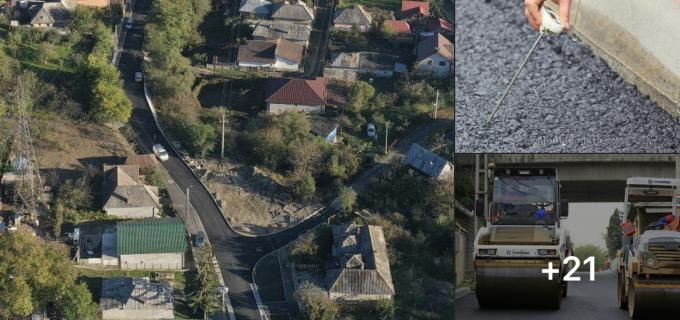 Lucrările de modernizare a străziui Săndulești, aproape de finalizare    FOTO