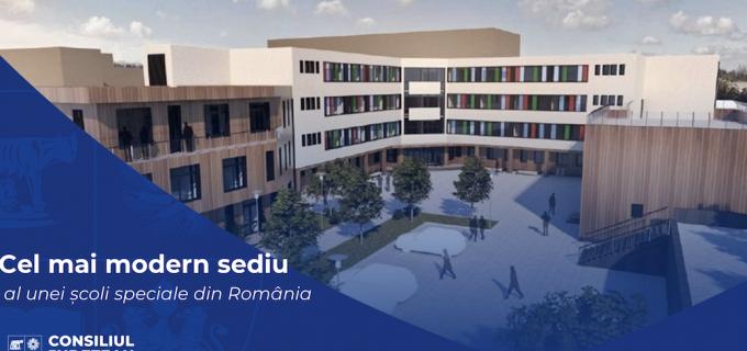 Începe construirea, cu fonduri europene, a celei mai moderne școli speciale din țară