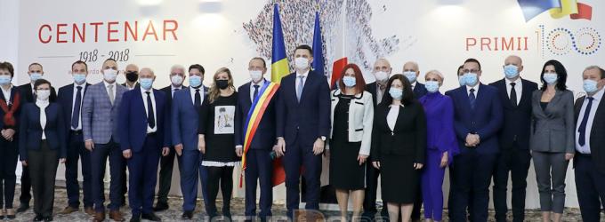 Foto/Video: Primarul Matei Cristian şi noul Consiliu local au depus jurământul