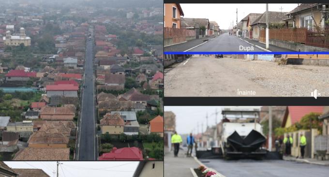Foto/VIDEO: Strada Cucului a fost complet modernizată