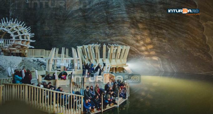 Liftul mic din Salina Turda, în revizie generală