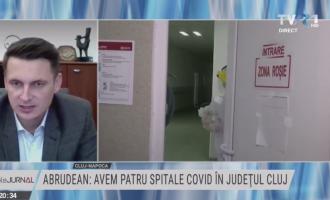 Prefectul Mircea Abrudean, Intervenție în cadrul emisiunii Tema Zilei de la TVR 1 – incidența infectării cu Covid-19 și măsurile luate în județul Cluj