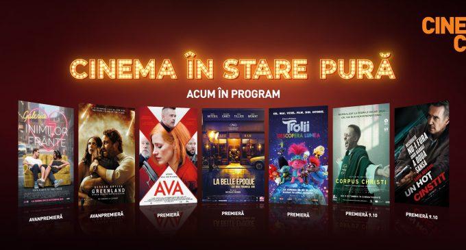 Cinema City redeschide de astăzi cinematografele
