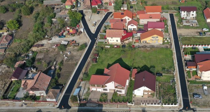 Cristian Matei: Cartierul Băi în plin proces de modernizare!  A fost așternut primul strat de asfalt pe strada Aleea Mureș și pe strada Aleea Olt!