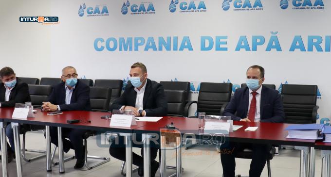 Compania de Apă Arieș S.A. a atribuit contractul de lucrări  ,,Extindere și reabilitare sisteme de reabilitare sisteme de alimentare cu apă și sisteme de canalizare menajeră în comunele  Călărași și Mihai Viteazu,,(CL9)