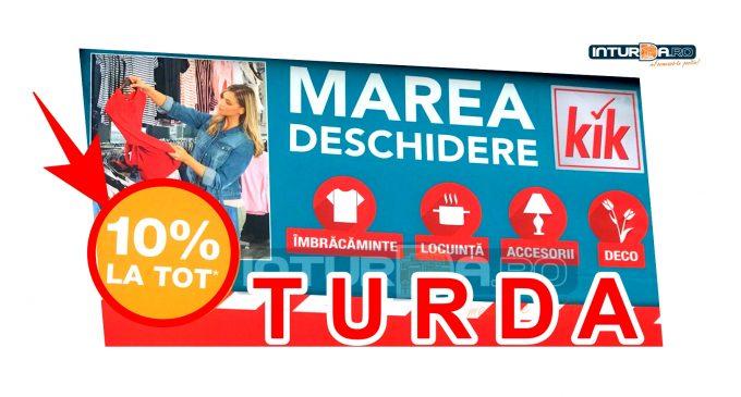 Marea DESCHIDERE KiK Turda! Magazin cu produse nemțești la prețuri foarte bune (P)