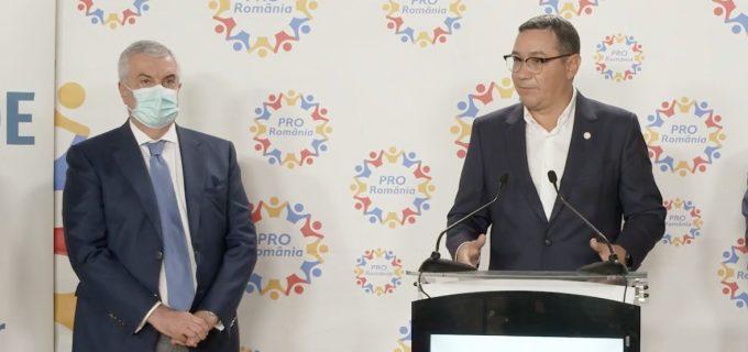 Partidele lui Ponta și Tăriceanu au fuzionat. Vezi cum se va numi noua formațiune