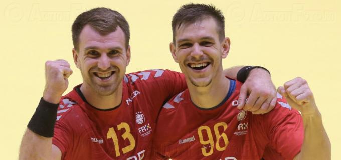 Cristi Ghiță și Roland Thalmaier au marcat în victoria României contra selecționatei din Muntenegru
