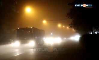Atenționare INMH: Cod Galben de ceață în județul Cluj