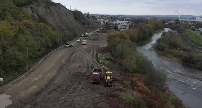 VIDEO: Au început lucrările de modernizare a unui tronson important al străzii Petru Maior
