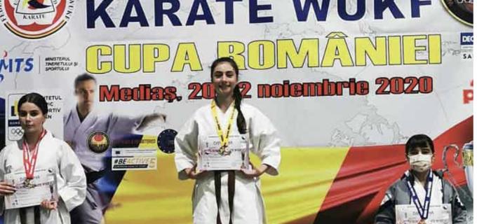 O nouă performanță sportivă pentru Maria Morar: Două medalii de AUR la Cupa României