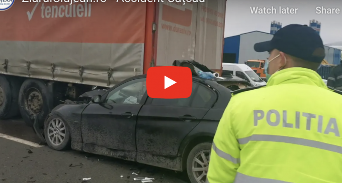 Foto/VIDEO: Accident mortal în județul Cluj!