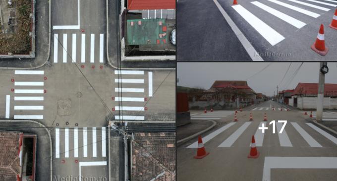 Foto/Video: Străzile Cucului și Racului, proaspăt marcate și modernizate