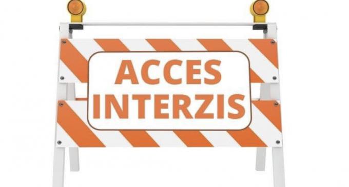 Primăria Turda: În data de 27.11.2020, începând cu ora 8:30 până la ora 16:00, accesul auto va fi interzis pe strada Fabricii