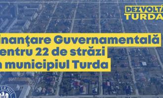 Matei Cristian: Veste extraordinară! Finanțare Guvernamentală pentru 22 de străzi din municipiul Turda
