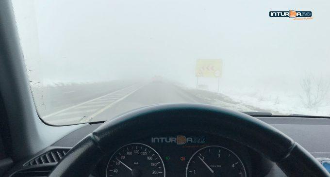 Cod Galben de ceață la Turda și Câmpia Turzii