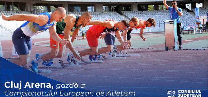 Cluj Arena va găzdui, în premieră pentru România, Campionatul European de Atletism