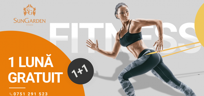1 lună GRATUIT – Black Fitness Friday la SunGarden Fitness!