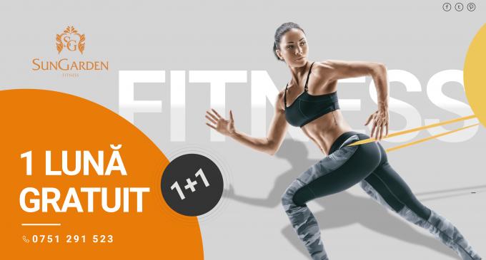 1 lună GRATUIT – Black Fitness Friday la SunGarden Fitness!