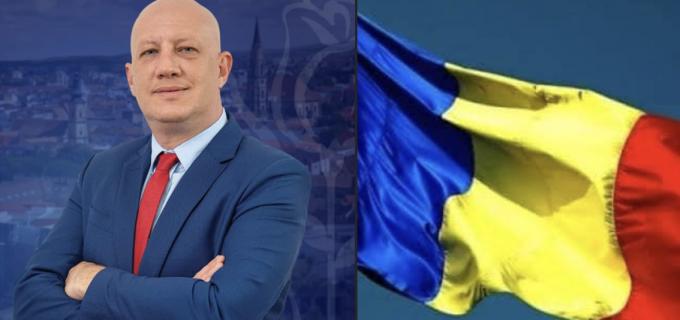 Răzvan Ciortea, mesaj cu ocazia Zilei Naționale a României