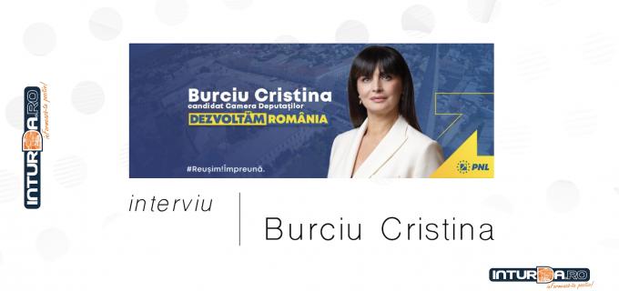 """Cristina Burciu, Deputat PNL Cluj și candidat pentru Camera Deputaților: """"Voi fi, ca și până acum, alături și la dispoziția turdenilor"""""""
