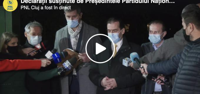 VIDEO: Florin Cîțu, premierul propus de PNL, USR-PLUS și UDMR. Guvernul va avea 18 ministere