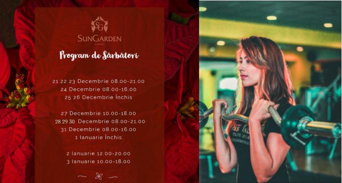 Program de SĂRBĂTORI – SunGarden Fitness Salin