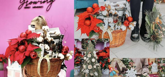Cele mai frumoase idei de cadouri și decorațiuni de sezon, la florăria Growing Sweet Memories din Câmpia Turzii