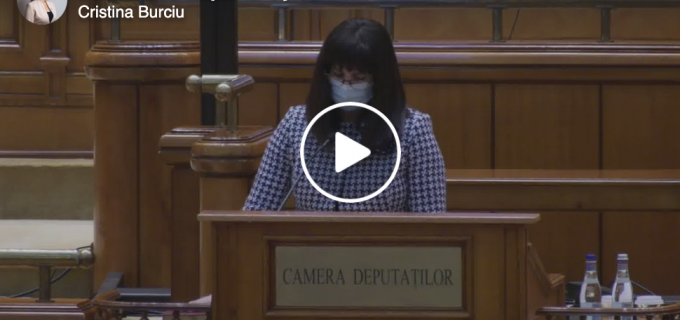 Burciu Cristina: Dragi clujeni, în cursul serii de ieri, în cadrul ședinței solemne a Camerei Deputaților, am depus jurământul de credinţă faţă de ţară şi popor