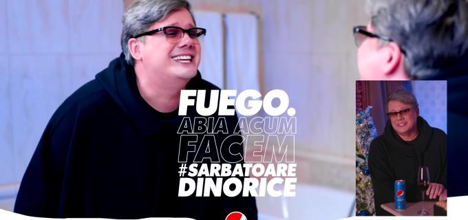 Imagini VIRALE cu artistul turdean FUEGO, protagonistul campaniei PEPSI #SarbatoareDinOrice