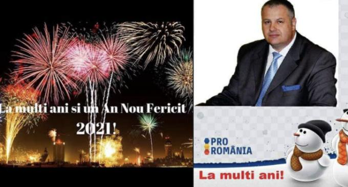 Mircea Irimie: La mulți ani! An nou fericit!