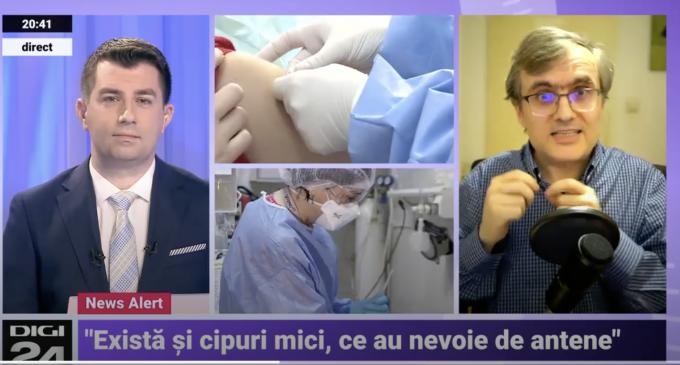 Poate fi implantat un cip în organism prin intermediul vaccinului? Vezi aici informațiile prezentate de fizicianului Cristian Presură