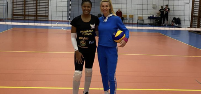 Premieră în voleiul turdean! ACS Volei Turda 'Cristina Pîrv' are o nouă jucătoare, transferată din Brazilia