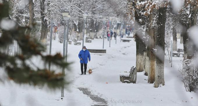 Galerie FOTO – Turda noastră frumoasă, îmbrăcată în alb, într-un frumos veșmânt de zăpadă