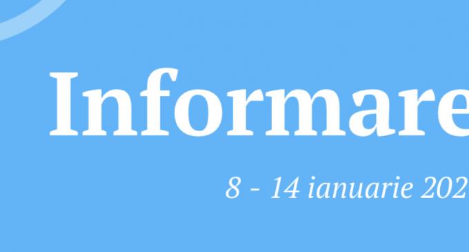 Spitalul Municipal Turda – BULETIN INFORMATIV pentru perioada 08 – 14 ianuarie 2021