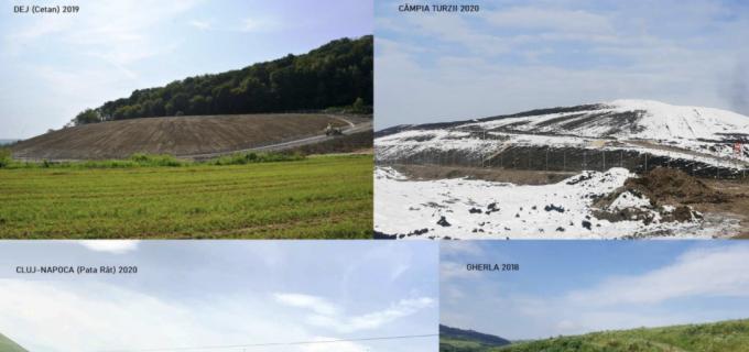 Toate rampele de deșeuri neconforme din județul Cluj sunt închise și ecologizate