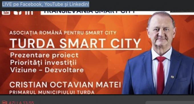 Asociația Română pentru SMART City – Emisiune în direct cu primarul Cristian Matei
