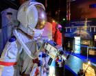 """Expoziția interactivă """"Space in the city"""", în premieră la Cluj-Napoca, în Parcul Industrial Tetarom I din Hoia"""