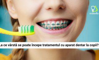 Stoma4u Turda: La ce vârstă se poate începe tratamentul cu aparat dentar la copii?